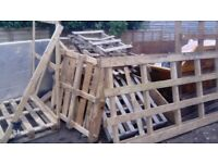 pallets for free, just collect. Various sizes