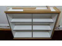 kitchen hanging cabinet with no doors 100cm x 72cm