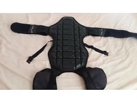 Body armour, back protectors and jacket. (KNOX)