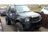jimny 1.9 td peugeot 306 conversion 11 months mot, off road toy, leather seats, big wheels