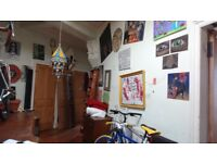 Short-term let(1 month) Massive artsy double room in a very cool part of town