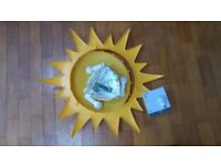 IKEA SMILA SOL - Childrens ceiling light with bulbs