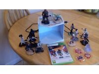 Disney Infinity Star Wars for XBOX 360. Game disc, 12 characters and three power discs.
