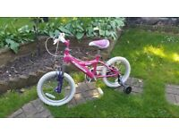 Children's bike recommended for age 4+ in good condition and working properly.2 bikes.