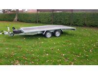 NEW Car Transporter Trailer Recovery Flat bed 2700kg GVW 4.5 m long £2500 inc VAT