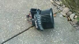 Peugeot 307 heater blower motor