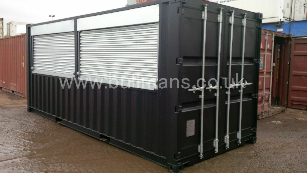 Mobile Bar / Mobile Kiosk for sale, converted from a 20ft new build ...