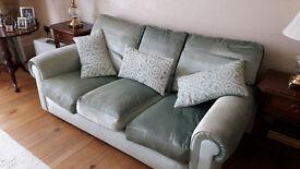 Beautiful Mint Green velvet sofa