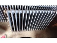 """Cast Iron Radiator - Sandblasted - 43"""" x 28"""" x 6"""" (TWO OF THESE - £120 EACH)"""