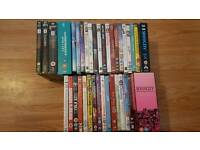 Mixed genre dvds and boxsets
