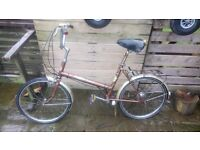 VINTAGE RETRO PUCH SHOPPER BIKE SIMILAR TO RALEIGH IDEAL FOR RATLOOK RATLOOK VW SHOWS ETC
