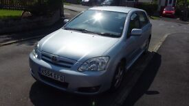 2005 Toyota Corolla 1.4l - new clutch