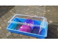 Large zoozone animal cage, incl. heat mat, for dwarf rabbits, guinea pigs, ferrets etc.