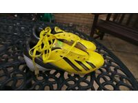 addias size 4 football boots