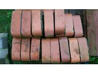 Antique reclaimed rounded bricks x20