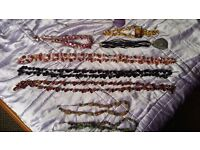 JOB LOT 8 Lovely necklaces - Crystal/shell - Spiritual/Wicca/Healing