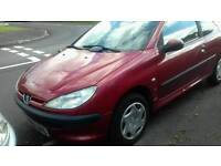 Peugeout 206 taxed and motd