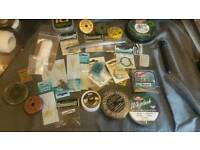Fishing joblot of end tackle bits