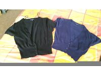 womens cropped and full lenght jeans and 2 short sleeved cardi size 14 £10.00 ono