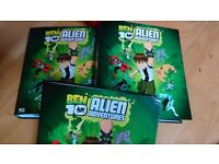 BEN 10 ALIEN comic collection in bespoke hard back files folders. ENTIRE COLLECTION
