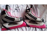 Mission ice skates size 4