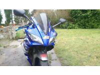 Yamaha r125 yzf