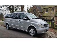 MERCEDES VIANO AMBIENTE 2.2 CDI EXTRA LONG 128500 MILES AUTO 8 SEATS 2 FORMER KEEPERS LOW ROAD TAX