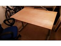 IKEA Office Desk and Adjustable Swivel Chair