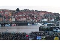 WHITBY TO WEST YORKSHIRE 3 BED SEMI WITH STUNNING VIEWS OF THE SEA AND WHITBY ABBEY