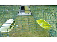 Eglu Go chicken house with 2m run and accessories
