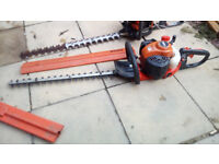 Echo Hedge Trimmer Ready for Work