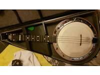 George Formby ukulele banjo