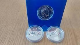 £5 coins