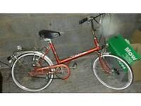 Unisex retro puch bike