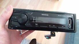 Car radio (kenwood kmm-261)