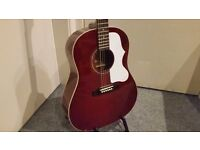 Epiphone 1963 EJ-45 Acoustic Guitar - Wine Red - Collection Only.