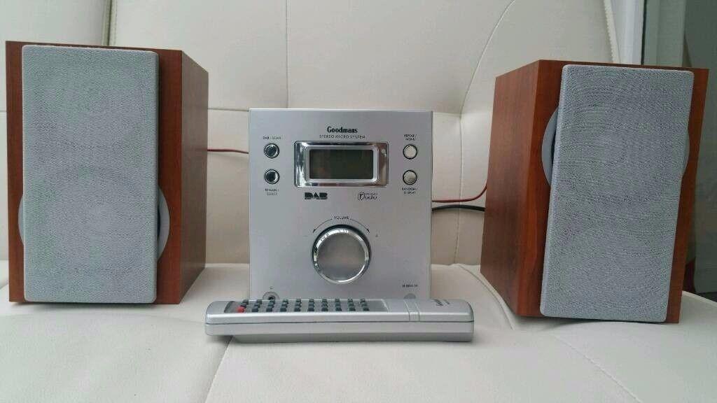 Goodmans DAB / CD - Hi-Fi system