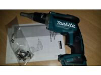 Makita XSF03Z Drywall Driver Brush Less Last model 2018 non-stop function 2 point hook Made in Japan