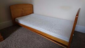 Toddler bed also cot