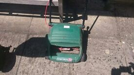 Qualcast Concorde 32 electric mower. Little used. Collection box