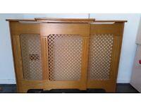 Beech wood radiator surround