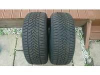2x Dunlop Winter Sport 5 - 225 50 R17 98V
