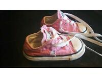 Pink Converse Size 5