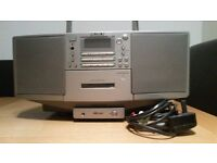 Sony CD/cassette/radio portable stereo with Line In/Out