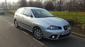 SEAT IBIZA STYLANCE#2006 56 REG#1.4 PETROL#5 DOOR#SILVER#FSH#(not ford/renault/corsa/fiat/peugeot)