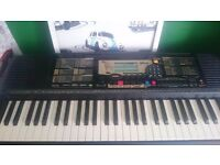 Yamaha keyboard / piano in good condition with stand
