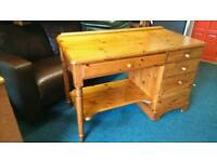 Solid pine desk mint condition