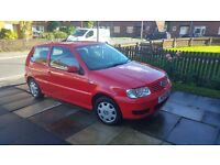 VW POLO 1.4 AUTOMATIC PETROL+LPG CHEAP TO DRIVE