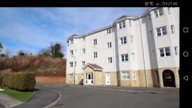 2 Bedroom, top floor flat, private parking
