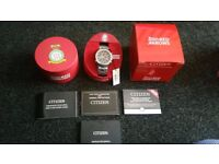 CITIZEN WATCH AT8060-50E BRAND NEW 5 YEAR GUARANTE £469 ON CITIZEN WEBSITE